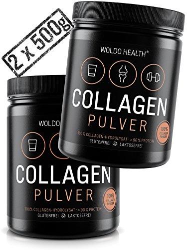 WoldoHealth I Colágeno Bovino I 2x 500g Polvo I Hidrolizado I 100{358a2d30a0e086692de1bead95be47ef7d4d2cfca4aeab171f19343af98d7488} Proteína Colágeno de vacuno