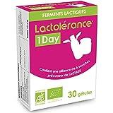 Lactolérance 1Day Bio - Précurseur de Lactase - 30 gélules