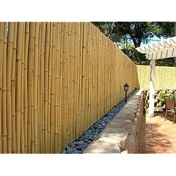 de commerce hochwertiger garten zaun sichtschutz bambus aty nature i garten terrasse balkon sichtschutz bambus mit geschlossenen rohren i windschutz