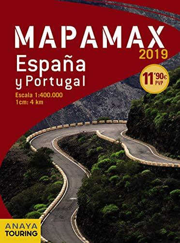Mapamax - 2019 (Mapa Touring) por Anaya Touring