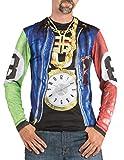 Boland 84217 - Fotorealistisches Shirt Rapper, Kostüme für Erwachsene