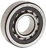 FAG nu203e-tvp2-c3 CILÍNDRICA Roller cojinete, Una Tira, recto perforación, desmontable anillo interior,alta capacidad,Polyamide jaula, C3 DISTANCIA AL SUELO, 17mm ID, 40 mm OD , 12mm Ancho