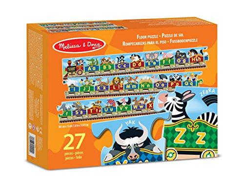 - Fussbodenpuzzle - Buchstaben-Express, Englisches Alphabet (Melissa Und Doug Alphabet-puzzle)