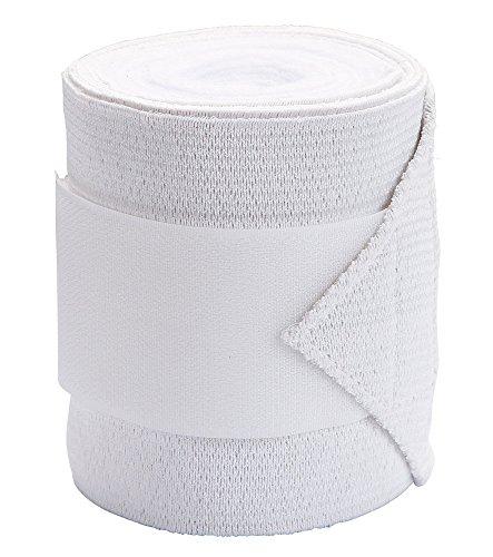 Kerbl Fleecebandage mit Stretcheinsatz, Weiß, 10 cm, 326791