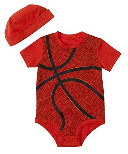 Basketball Halloween Kostüme (Waboats Baby Mädchen Jungen Sommer Basketball Kurzarm Romper Klettern Overall 6M)
