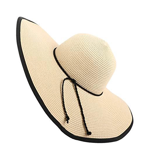MERICAL Floppy Sombrero De Paja Sombrero De ala Grande