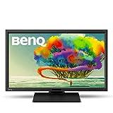 BenQ BL2711U - Monitor para PC Desktop (27' 4K UHD, 3840x2160, 100 % sRGB, Rec. 709, tecnología IPS, diseño gráfico, animación, CAD, Low Blue Light, Flicker-free, pie de altura regulable), color negro