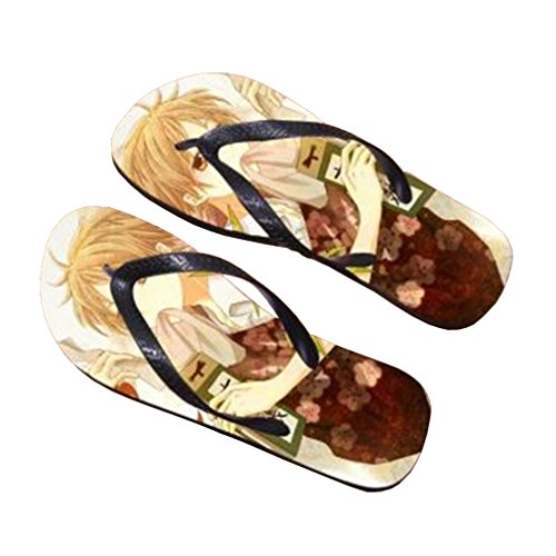 Bromeo Natsume Yuujinchou Anime Unisex Flip Flops Zehentrenner Flip Pantoffeln 735