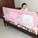 Kurtzy Bed Rail Baby Falling Safety Barrier Protector Fence for Newborn Toddler Kids