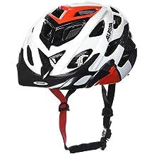 Alpina casco da ciclismo D p-altowatt-b, Unisex, Radhelm D-alto, White-Black-Red,