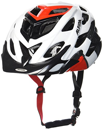 Alpina Radhelm D-Alto white-black-red 52-57