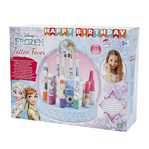 Giochi Preziosi - Frozen Happy Birthday Tattoo Fever