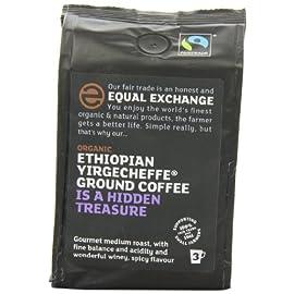 Equal Exchange Ethiopian Yirgacheffe Ground Coffee 227 g (Organic)