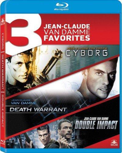 3 Jean-Claude Van Damme Favorites: Cyborg / Death Warrant / Double Impact [Blu-ray] [Import italien]