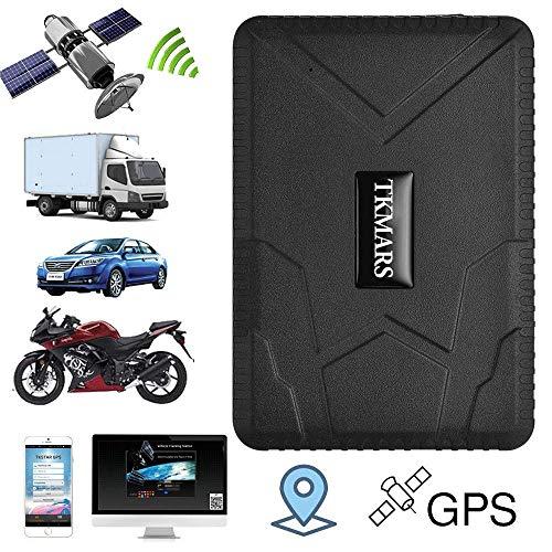Rastreador GPS, Zeerkeer Impermeable Plataforma de por Vida 6 Meses Reproducción de...