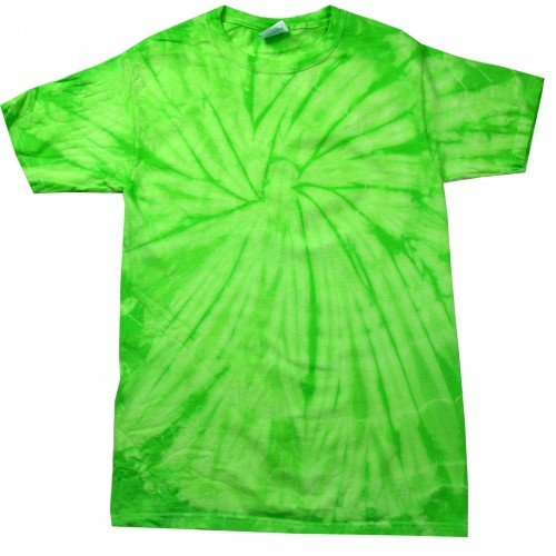 Colortone Camiseta de Manga Corta Psicodélica Unisex Modelo Spider Niños Niñas - Moda/Tendencia/Hippie
