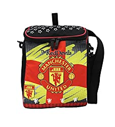 Stuff Jam Football Club Featured Box Shaped 2 In 1 Bag-Pack Cum Sling Bag-24049929