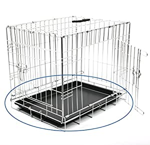 Duvo+ 780/672 Bac en Plastique pour Cage à Treillis pour Chien