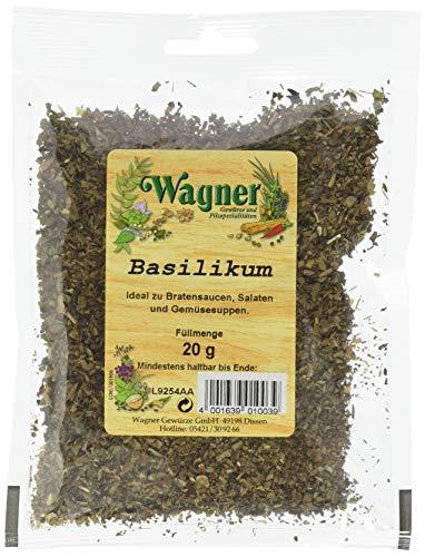 Wagner Gewürze Basilikum gerebelt,  20 g