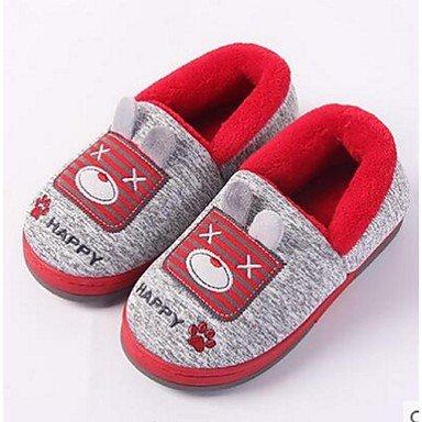 LQXZM Unisex pantofole & amp; flip-flops Comfort informale di pelliccia rosa grigio Tan Gray