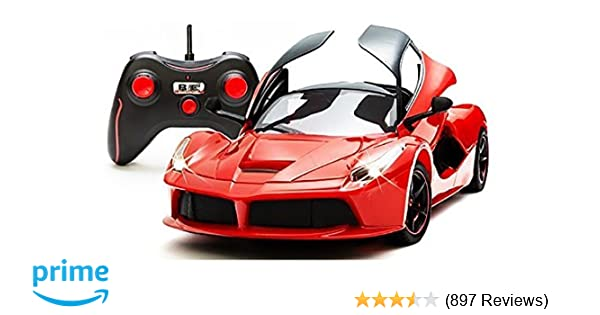 Buy Webby Remote Controlled Super Car With Opening Doors, Red Online At Low  Prices In India   Amazon.in