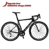 SAVADECK Phantom 2.0 700C Bicicleta de Carretera de Fibra de Carbono Shimano...
