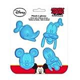 Disney Silikonbackform Mickey Goffy Donald