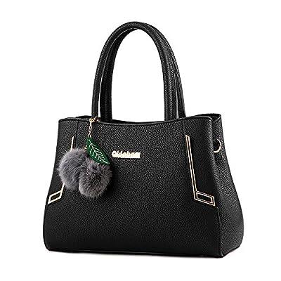 Tisdaini Sac à main pour femme sac à main en cuir naturel en cuir verni Sac à bandoulière sac à bandoulière en dames