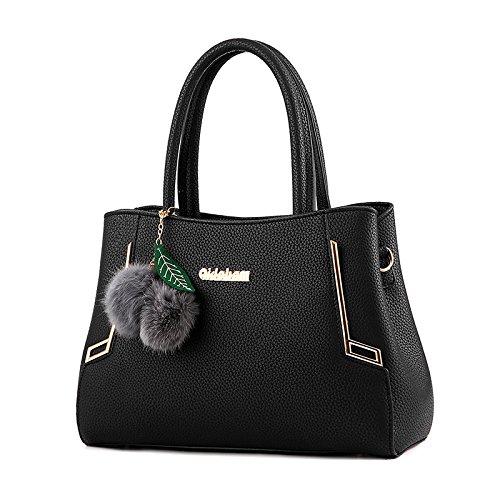 88ed2dfd20 Tisdaini Mme portefeuille de sac à main sac à bandoulière sac à main en cuir  gaufré sac à main de qualité PU Sac Messenger big bag