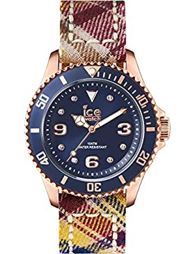 Ice-Watch Unisex-Armbanduhr Analog Quarz Silikon IS.BG.RG.U.C.14