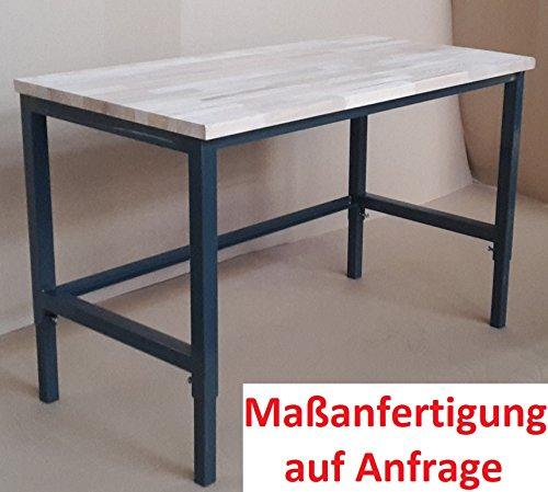 Werkbank Werktisch Werkstatttisch Arbeitstisch günstig Platte komplett stabil Werkbank komplett fertig - keine Montage/ stabil