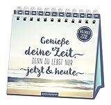 """Tischkalender """"Genieße deine Zeit"""" 2018 - Grafik Werkstatt Bielefeld"""