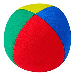 Henrys j05110de E42-Beanbags Superior, diámetro 67mm, Verde/Rojo/Azul/Amarillo