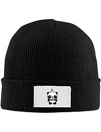 VTXWL Mens Womens Knit Beanie Hats Panda 14 Warm Winter Skull Caps Fashion  Unisex 01317e349d1