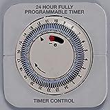 Einhell Konvektor Heizung Turbo CH 2000/1 TT (2000 Watt, mit Gebläse und Zeitschaltuhr, 3 Heizstufen, Thermostat,  Stand- oder Wandgerät) - 3