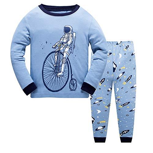 naut Bike Baumwolle Langarm T-Shirt 2 Stück Tägliches Kinder Kleid ()