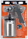 Black + Decker Pistolet pulvérisateur avec ventouse et fermeture baïonnette