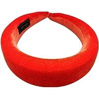 Siwetg - Cerchietto per capelli da donna, imbottito ed elastico, in velluto lucido, morbido, colorato, per feste, 11…