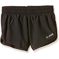 Jako Short Sprinter Short Speed - Pantalones cortos de running para niño, color negro, talla 12 años (152 cm)