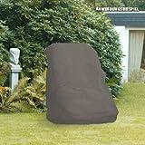Videx-Gartenmöbel-Schutzhülle für Hochlehner Sessel, taupe