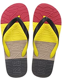 United Colors Of Benetton Men's Multicolor Flip-Flops And House Slippers - 8 UK/India (42 EU) - B01N39QAMR
