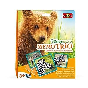 Bioviva 300018Memo Trio disne ynature, Juego
