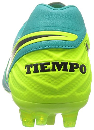 Nike Herren Tiempo Legacy Ii Ag-R Fußballschuhe Verde (Clear Jade / Black-Volt)