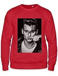 Johnny Depp Blows Coke Cocaine Life Is a Joke Unisex Sweatshirt
