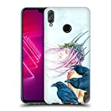 Head Case Designs Offizielle Jane Starr Weils Morrighan Und Ihre Raben Göttin 2 Soft Gel Hülle für Huawei Honor View 10 Lite
