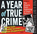 Calendrier 365 Days of True Crime - Page par jour - 2020-14 x 15 cm...