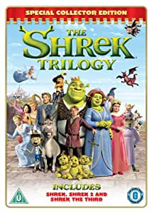 The Shrek Trilogy [DVD]