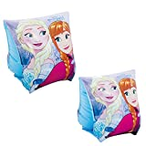 INTEX - Manguitos hinchables Frozen de 23 x 15 cm - 3/6 años (56640)