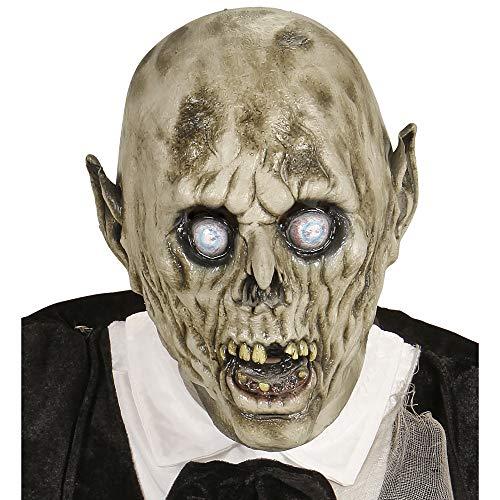 Widmann - maschera testa completa zombie sposo per adulti, taglia unica, vd-wdm96574
