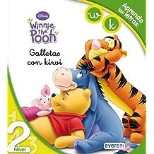 Winnie the Pooh. Galletas con kiwi. Lectura Nivel 2: Aprendo las letras: